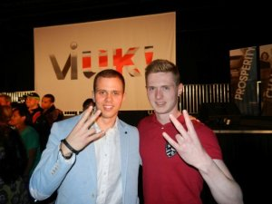 Joshua Churcher and Jonathan (Future Ambassador!)
