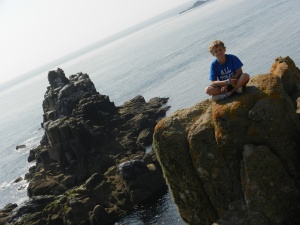 Draven at the very tip of Lands End